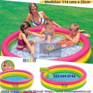 PISCINA AROS INTEX 114X25CM.